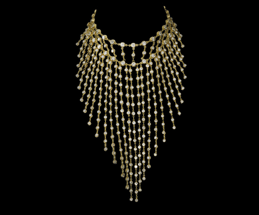 Cascade Diamond Necklace