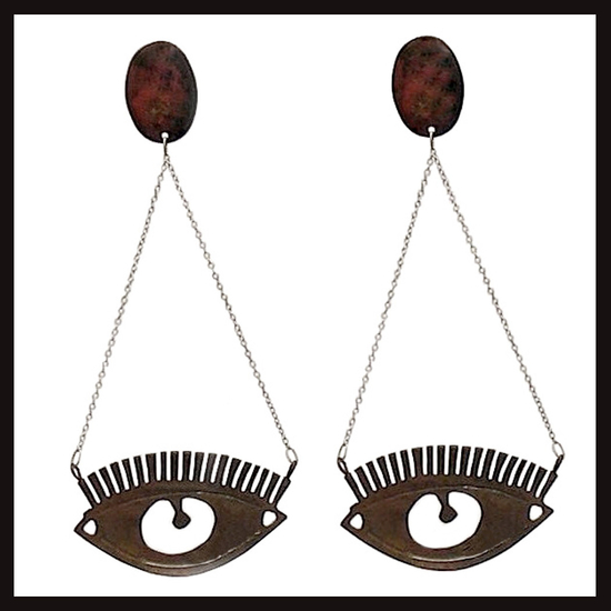 Eyedrop Earrings