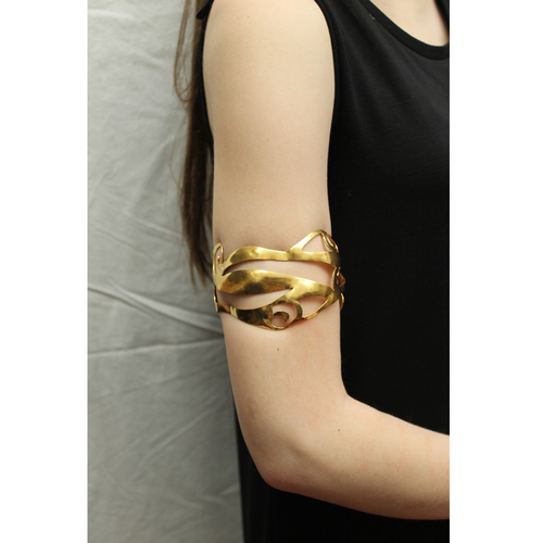 Celtic Nouveau Large Cut Swirl Cuff