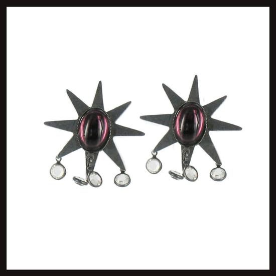 Medium Set Star Earrings