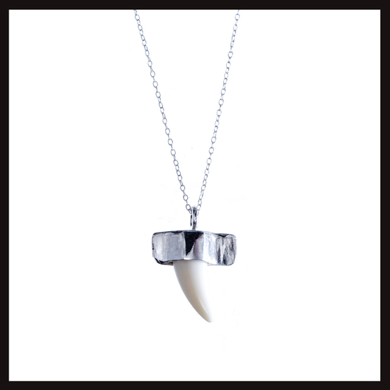 Ethnic Punk Tooth Pendant