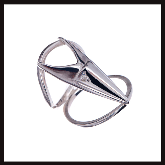 Orion Large Double Band  Ring