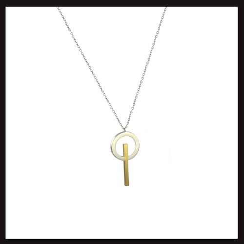 Tangent Pendant Necklace